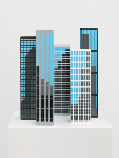 , 'Modern Towers 1,' 2017, Alan Cristea Gallery