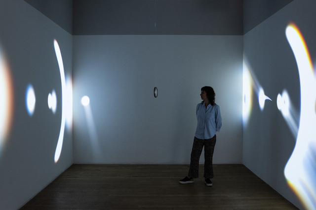 , 'Semioptics for Spinoza,' 2012, bitforms gallery