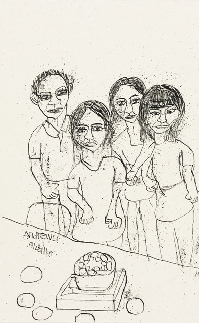 , 'Family,' 2011, Creativity Explored