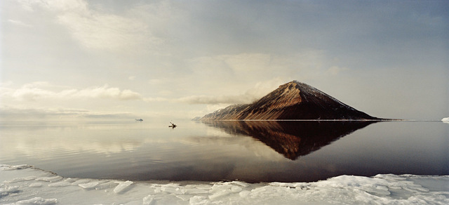 , 'Kayak Man on Calm Seas,' 2016, Hans Alf Gallery