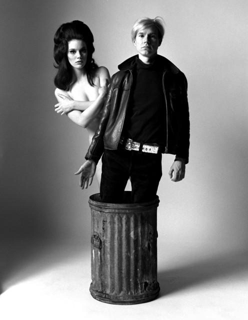 , 'Susan Bottomly and Andy Warhol,' 1966, CAMERA WORK