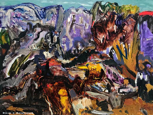 David Alexander, 'Lavender Fog Rising', 2019, Bau-Xi Gallery