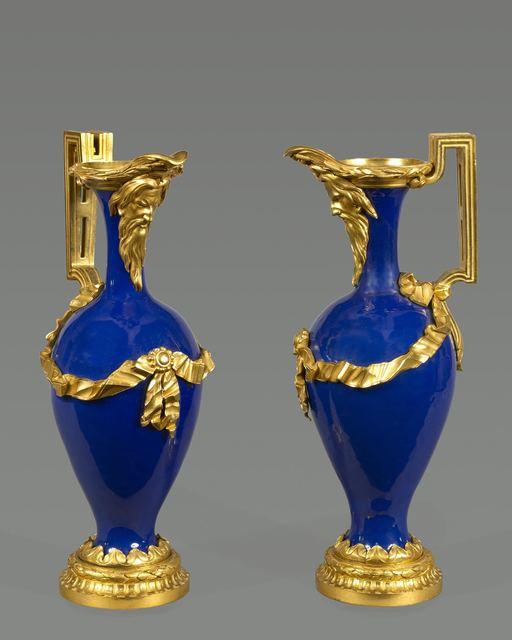 Unknown Artist, 'A beautiful pair of Louis XVI ewers', Kraemer Gallery - Paris