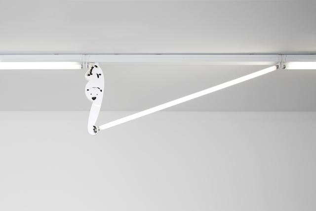 , 'Fluorescent Fittings [Polar Bear/White],' 2015, Tanya Leighton