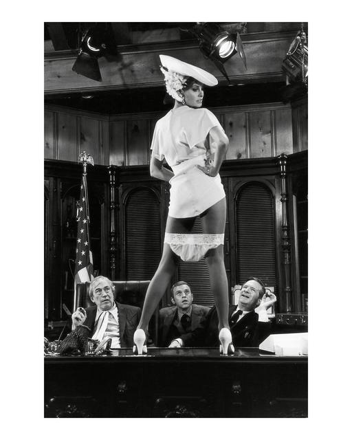 Terry O'Neill, 'Raquel Welch on set of Myra Breckenridge, Los Angeles', 1970, Photography, Silver Gelatin Print, Gallery 270