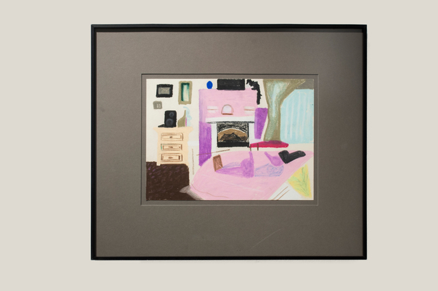 , 'Study of Air Force Amy's Room at the Moonlight,' 2012, Dio Horia