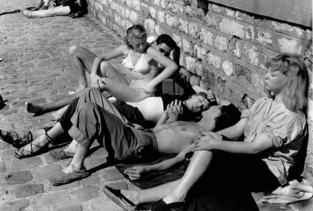 , 'Sunbathers along the Seine, Paris,' 1950, Artist's Proof