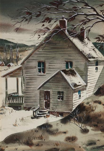 , 'Early Winter Morning,' , Questroyal Fine Art