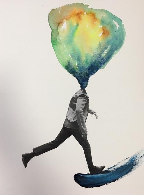 greet weitenberg, 'Running', 2018, PontArte