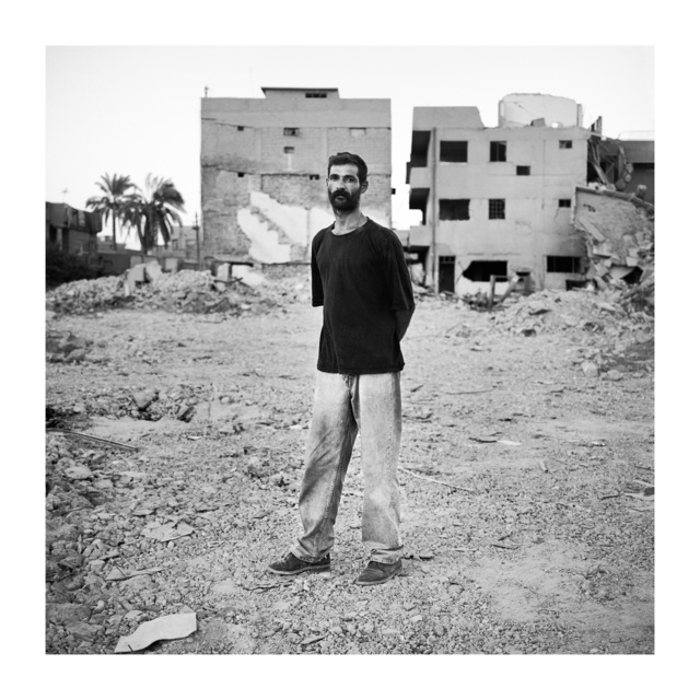 , 'Security Guard, Baghdad,' 2003, Galerie Julian Sander