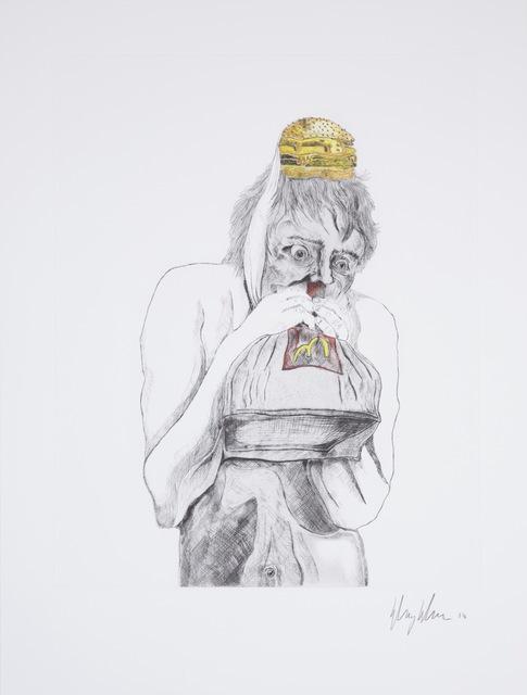 Henry Hudson, 'Man Devouring Big Mac (3)', 2014, Human Reproduction