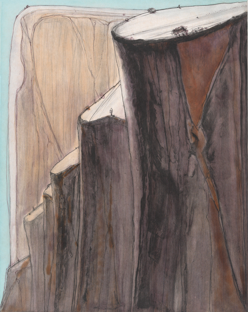 , 'Canyon Bluffs,' 2014, Crown Point Press