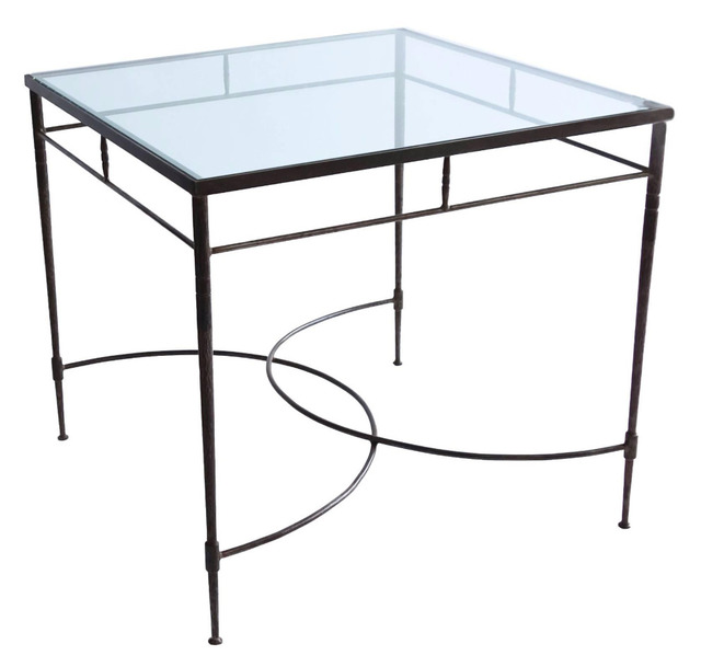 Unknown Artist, 'Italian Steel and Glass Patio Table', 20th Century, Lawton Mull