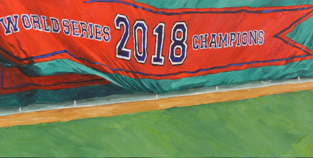 , 'Another Banner,' 2019, Copley Society of Art