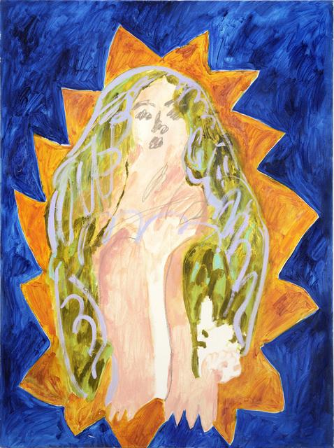 , 'Blue Madonna,' 2015, Cob