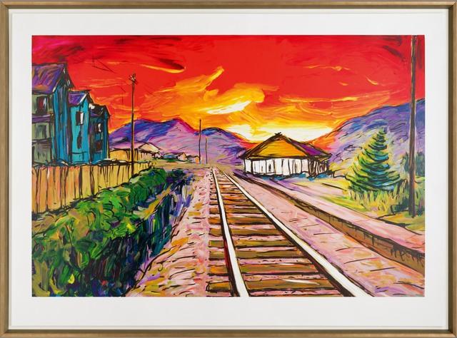 Bob Dylan, 'Train Tracks (2019)', 2019, Castle Fine Art