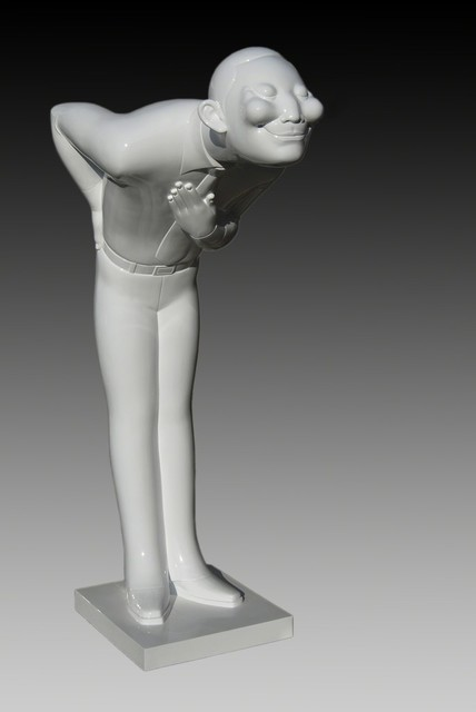 , ' Post Standard Times (Skinny Man),' 2008, Ode to Art