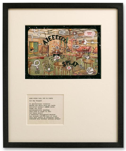 , 'AIEEEEEEK!,' 1968-1970, Hales Gallery