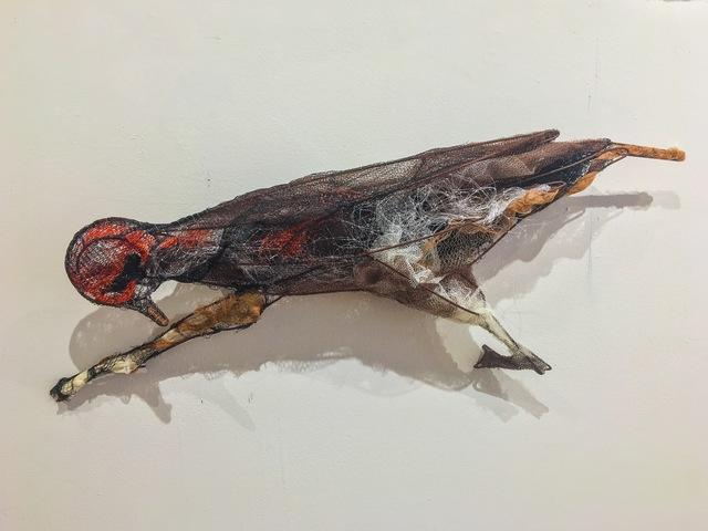 , 'Cruel Bird after Lee Bontecou ceramic 1957,' 2017, Cross Contemporary Art