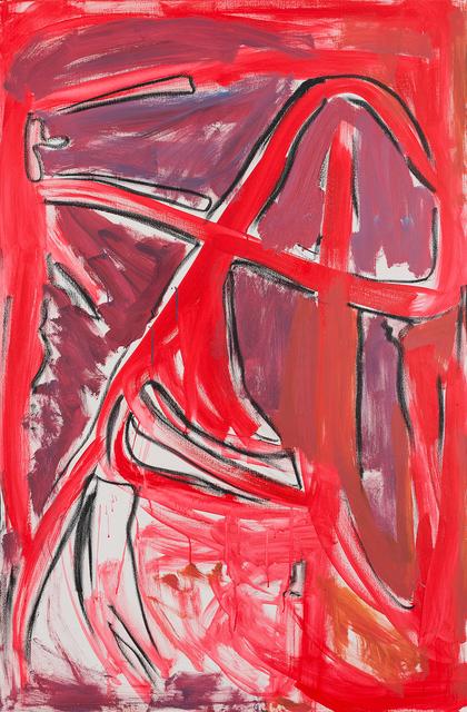 , 'red, violett,' 2011, Charim Galerie