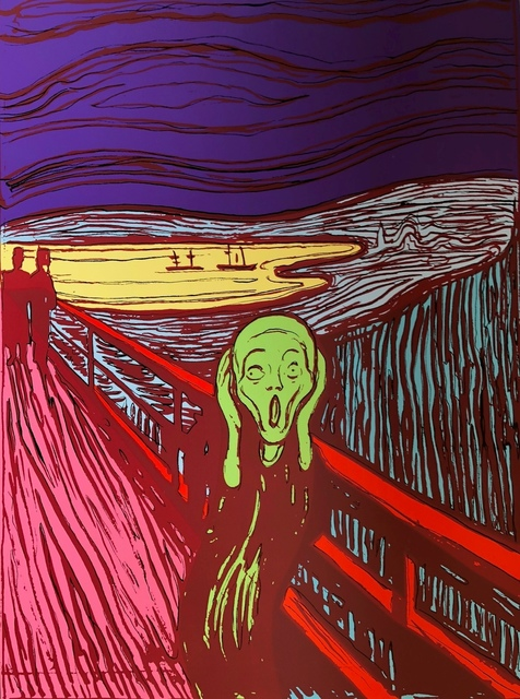 Andy Warhol, 'The Scream (Sunday B. Morning) (set of three)', 2017, Print, The complete set of three screenprints in colours, Forum Auctions