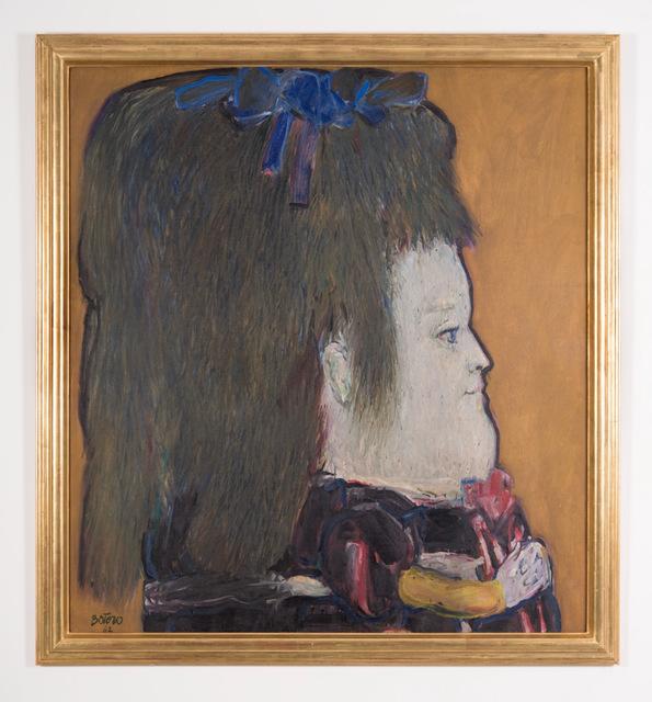 , 'Perfil de una niña ,' 1962, Ascaso Gallery