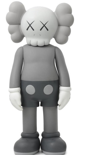 KAWS, 'Companion 4ft (Grey)', 2007, End to End Gallery
