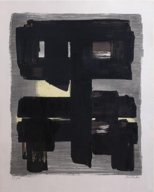 Pierre Soulages, 'Lithographie n° 1 ', 1957, Galerie F. Hessler
