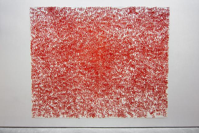 , 'Hate,' 2017, Sperone Westwater