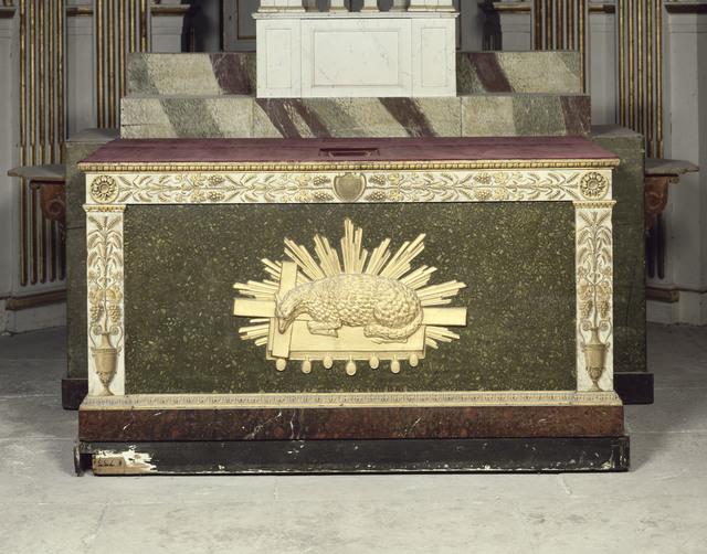 , 'Autel ayant servi à Pie VII (Altar used for Pius VII),' 1810 , Château de Fontainebleau
