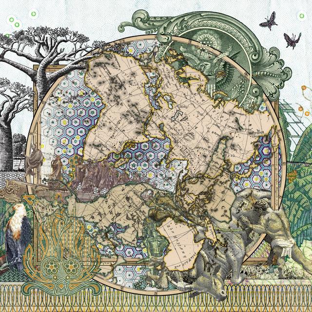 , 'Figure 1826 Der Sudliche Gestirne Himmel vs Planiglob der Antipoden,' 2016, 50 Golborne
