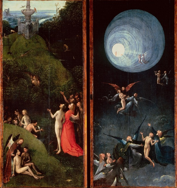 Hieronymus Bosch, 'Visions of the Hereafter', 1505-1515, Painting, Museo Nacional del Prado