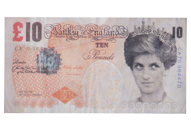 Banksy, 'Di-Faced Tenner', 2004, Chiswick Auctions