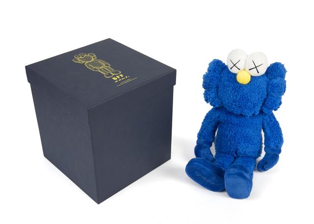 KAWS, 'BFF (blue)', Julien's Auctions