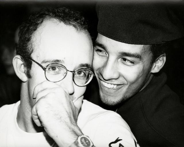 Andy Warhol, 'Keith Haring & Juan Rivera (smiling)', 1986, The Future Perfect