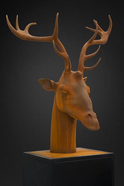 , 'GIRAFFE-DEER HEAD,' 2015, Opera Gallery