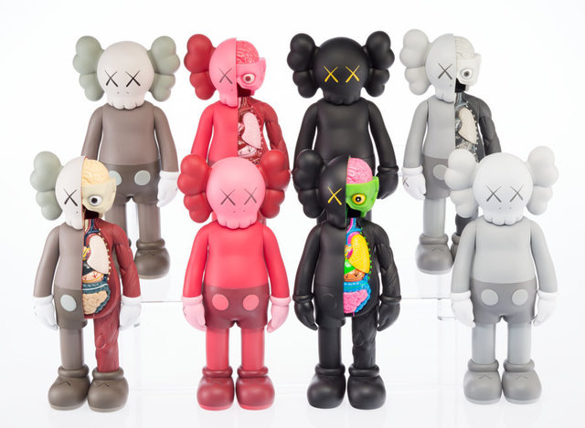 KAWS, 'Group of 13 Kaws Be@rbricks', 2010-2016, Heritage Auctions