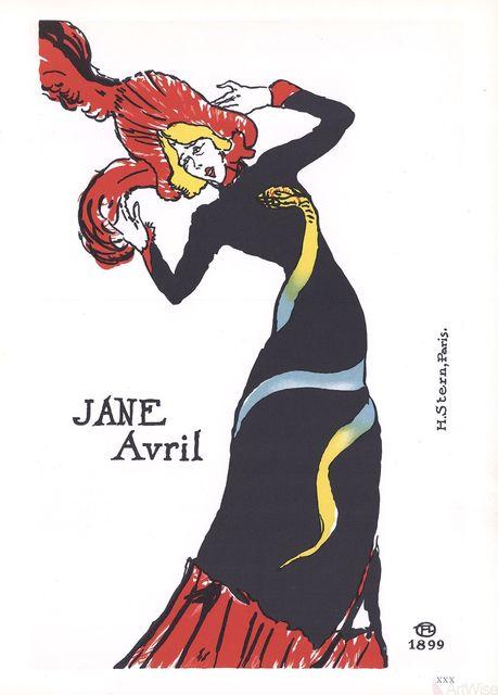 , 'Jane Avril,' 1966, ArtWise