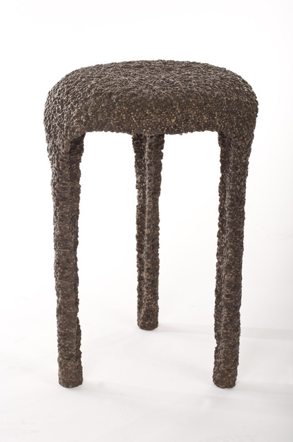 , 'Bronze Poly Tri-Legged Stool #1,' 2011, Johnson Trading Gallery