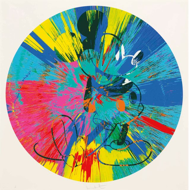 Damien Hirst, 'Beautiful Mickey (Spin)', 2015, Reuben Colley Fine Art