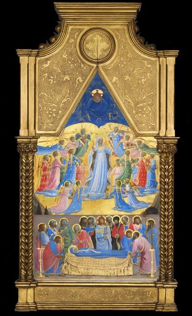 , 'The Death and Assumption of the Virgin ,' before 1434, Isabella Stewart Gardner Museum