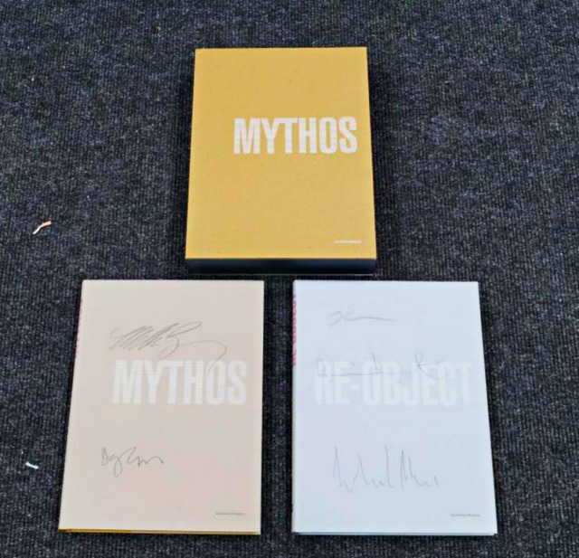 Damien Hirst, 'Mythos/Re-Objects, hand signed by each these five (5) artists.', 2007, Alpha 137 Gallery