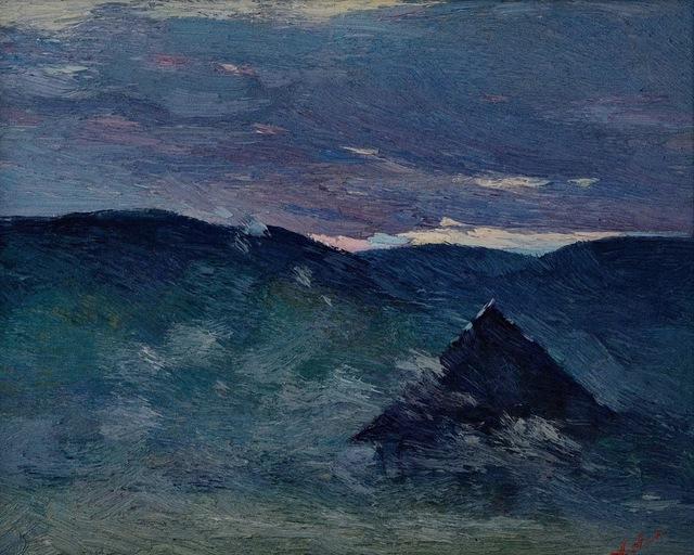 , 'Etude. Prahova,' 1999, Art Of Stream
