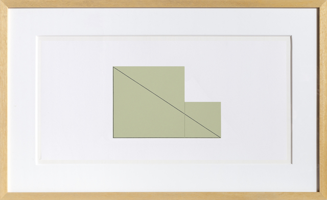 Robert Mangold, 'untitled from Book of Silk Screen Prints: Multiple Panel Paintings 1973-1976', 1988, RoGallery