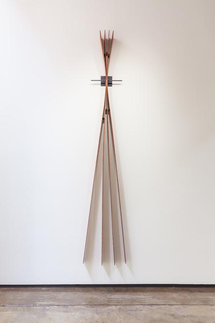 , 'Red Fan,' 2018, Goodwin Fine Art