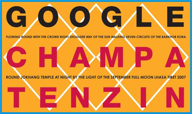 , 'GOOGLE CHAMPA TENZIN FLOWING ROUND WITH THE CROWD RIGHT SHOULDER WAY OF THE SUN WALKING SEVEN CIRCUITS OF THE BARKHOR KORA ROUND JOKHANG TEMPLE AT NIGHT BY THE LIGHT OF THE SEPTEMBER FULL MOON LHASA TIBET ,' , Josée Bienvenu