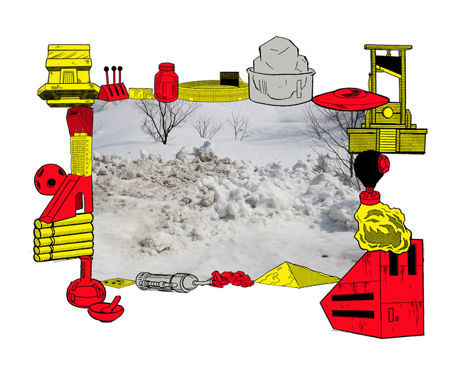 , 'Games,Dance & the Constitutions(snowplow)#6,' 2018, Art Front Gallery