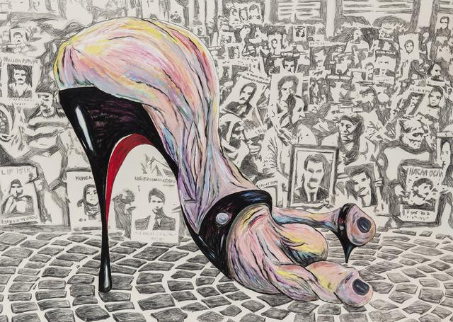 , 'Put Your Foot Down,' 2017, Zilberman Gallery