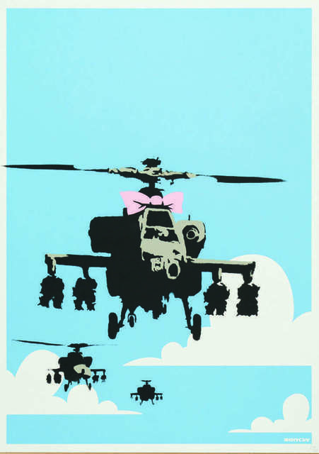 Banksy, 'Happy chopper', 2003, Digard Auction