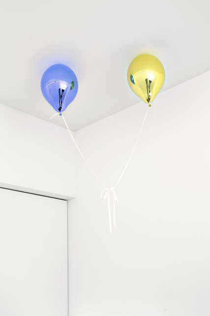 , 'Wishes for Two (medium blue and medium yellow),' 2017, Galleri Nicolai Wallner